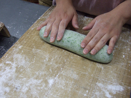 のりなまこ餅(のりかき餅)の作り方(その5)