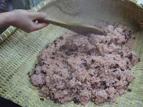 赤飯の作り方(その4)