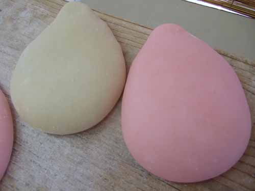 鶴の子餅の作り方(その6)