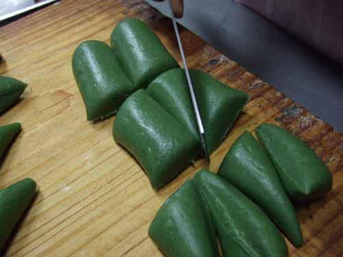 草餅(きな粉付き)の作り方(その6)