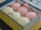 紅白まんじゅう(紅白饅頭)