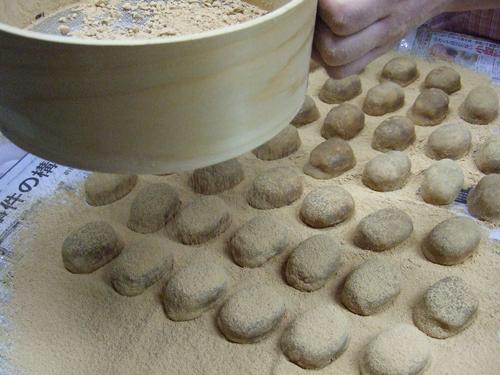 亥の子餅(いのこ餅)の作り方(その5)
